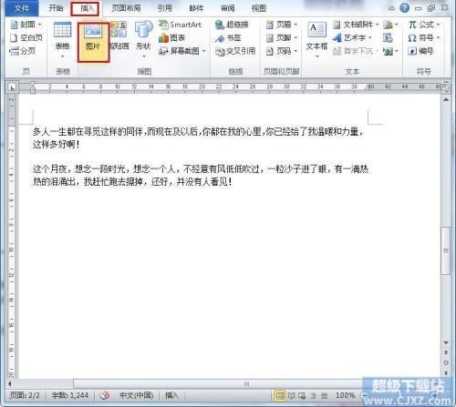 word文档图片显示空白