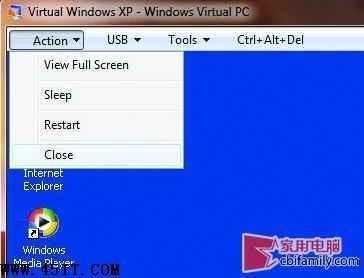 本本如何启动Win7的XP模式