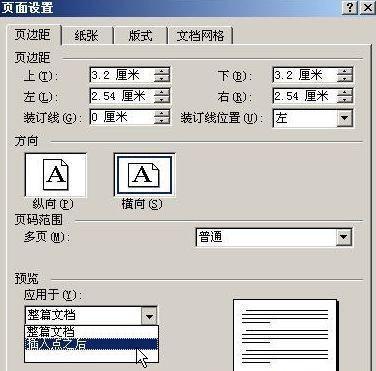 word2010页面排版